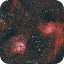 IC414, IC410 & IC405,                                Michael Caller