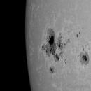 Sole, NOAA 1967 del 29 Gennaio 2014,                                Ennio Rainaldi