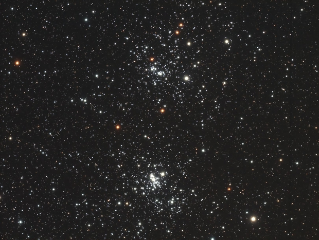 The Double Cluster in Perseus,                                Jason Hissong