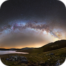 MilkyWay on Pises observatory in RICE of Cevennes,                                Maxime Tessier