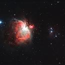 M42 and the Running Man nebulas,                                Ross Lloyd
