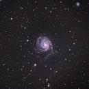 M101 - Pinwheel Galaxy,                                dbenji
