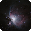 M42 - The Orion Nebula - first serious Deep Sky image,                                Uwe Deutermann