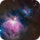 The Great Orion Nebula and Running Man Nebula (Ha-LRGB),                                Alessio Beltrame