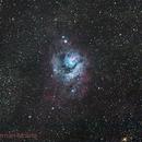 M8 Lagoon Nebula,                                Hernan Molina