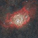 M8 - Lagoon Nebula (Reprocessed),                                Ahmet Kale