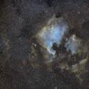 NGC7000 & Pélican - SHO Palette Hubble,                                Jean-Marc