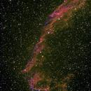 The Eastern Veil Nebula  NGC 6992,                                Aaron