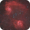 Ic 405 and 410 with old sovietic lens,                                Gianluca Belgrado