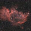 IC 1848 - Soul Nebula - DSRL-Ha-RGB,                                Wolfgang Zimmermann
