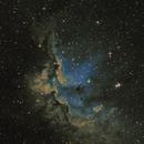 NGC 7380 - The Wizard Nebula,                                Lee Morgan