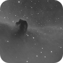 horsehead nebula (and exsanguinous alnitak; H-alpha, H-beta, O-III -> mono),                                Thomas
