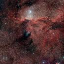 NGC6188 Two Panel Mosaic,                                Rex
