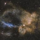 SH2-157 The Lobster Claw Nebula,                                Michael Gorman