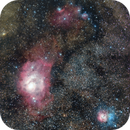 Aniversary picture , M8 and M20., with STC Multispectra and QHY 165C ( final process on Pix insight ),                                Luis Marco Gutierrez