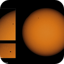 Solar Eclipse - Last contact 2015/03/20UT10:40,                                Adriano Valvasori