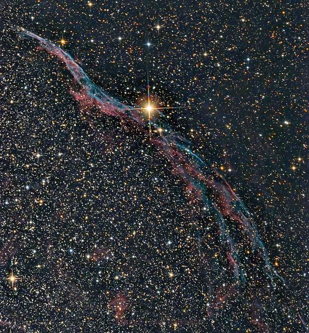 NGC 6960,                                Peter Baumann