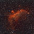 IC 2177 - Seagull Nebula Widefield (HaRGB)[SH2-292],                                Kurt Zeppetello