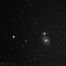 M51, Whirlpool Galaxy,                                Thibaut B.