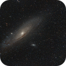 Andromeda Galaxie,                                Maniersch