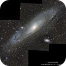 Andromeda Galaxy Panel,                                Samuel Müller