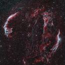 Cygnus Loop RGBHOO,                                Johannes Bock