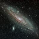 Andromedagalaxie (M31) - OIII, SII,                                Markus Gorski