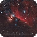 Horsehead & Flame are back in the sky,                                Christophe Perroud