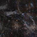 Predator-Prey Nebula - reprocessed mosaic,                                Göran Nilsson