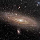 M31 Andromeda Galaxy,                                Nigel Arnold