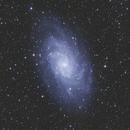 M33 combinaison : 156x30s + 195x30s,                                Christophe de la Chapelle