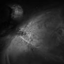 M 42 Zentrum in H-Alpha,                                Stefan Schimpf