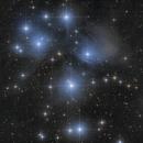 M45 - The Pleiades,                                Nic Doebelin