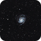 Wide Pinwheel M101,                                astropical