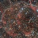 Vela supernova remnant,                                Sebastian Marchi