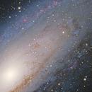 Andromeda Core - 10/8/2010,                                AstroPoverty