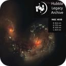 NGC4038 Antennae Galaxy (Hubble Space Telescope),                                Roberto Frassi