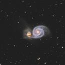 M51 - Whirlpool Galaxy,                                Phil Brewer