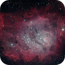 Lagoon Nebula in HaLRGB,                                Craig Prost
