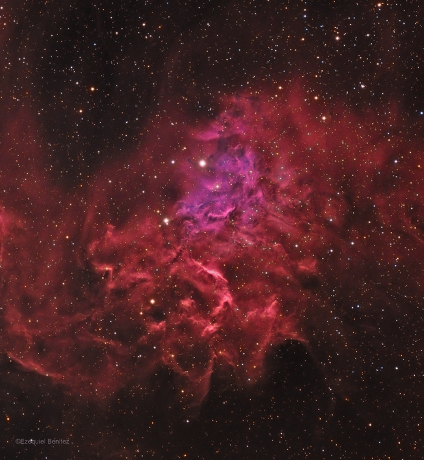 Flaming Star - IC405 HALRGB,                                Ezequiel