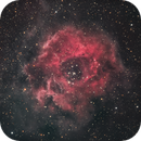 Rosette Nebula in HA + SII with RGB stars,                                Tristan Campbell