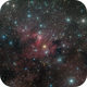 SH2-155 Cave Nebula in LRGB,                                Richard Bratt