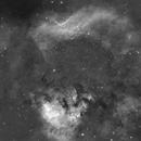 NGC7822 mosaique 6panels,                                astronono