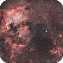Deneb region with North America (NGC7000) and Pelican ( IC 5070 and IC 5067) Nebulae in HOOH,                                Michele Vonci