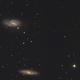 Leo Trio - M65, M66 and NGC3628,                                kmachhi