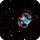 Little Dumbbell Nebula - M76  HA/RGB,                                Jim Matzger