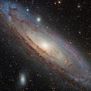 M31 Ha-LRGB,                                xordi