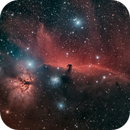 Horsehead Nebula IC434 under difficult skies with CLS Filter,                                Stephan Linhart