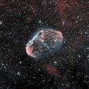 Crescent Nebula HOO,                                T3rza Cr0ma