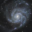M101 closeup - LRGB,                                Rodolphe Goldsztejn